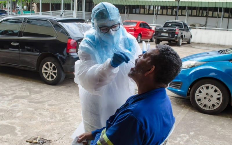 USP começa a fazer teste de Covid-19 por saliva a partir de terça para moradores de SP